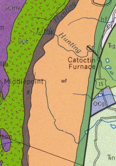 Geologic Maps Of Maryland Frederick County
