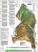 Geologic Map of Prince George's County, Maryland