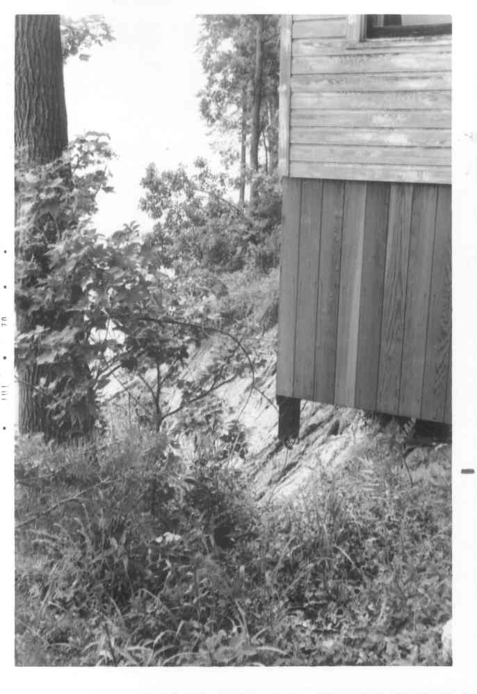 Queen's House - Cliffs of Calvert State Park, Calvert County - July 15, 1970