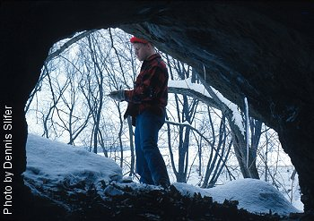 Fairview Cave (photo by Dennis Slifer)