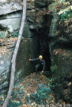 Snivelys Caves (photo by Dennis Slifer)