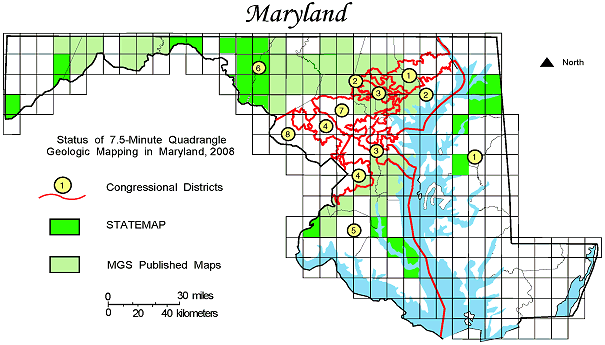 Maryland STATEMAP Coverage, 2007